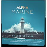 ALPHA MARINE Набор Fresh Splash (шампунь 250 + гель 200 + сыворотка для лица саше 3 шт