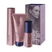 Набор Shine ESTEL HAUTE COUTURE LUXURY SHINE (Шампунь, Маска для волос, Масло-блеск)