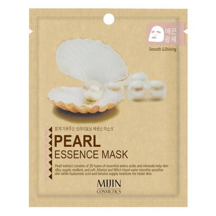 МЖ Cosmetics Маска для лица тканевая жемчуг PEARL ESSENCE MASK, 25 гр