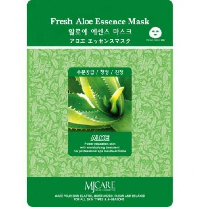 МЖ Cosmetics Маска для лица тканевая алое FRESH ALOE ESSENCE MASK, 25 гр