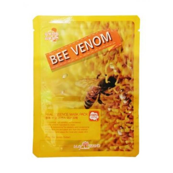МСЛ REAL Маска для лица тканевая Real Essense BEE VENOM MASK, 25 мл