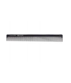DEWAL Расчёска рабочая PRIME комбинированная, черная 19 см//CO-0082-PRIME