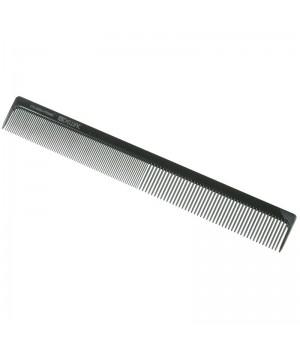 DEWAL Расчёска рабочая PRIME комбинированная, черная 22 см//CO-0085-PRIME