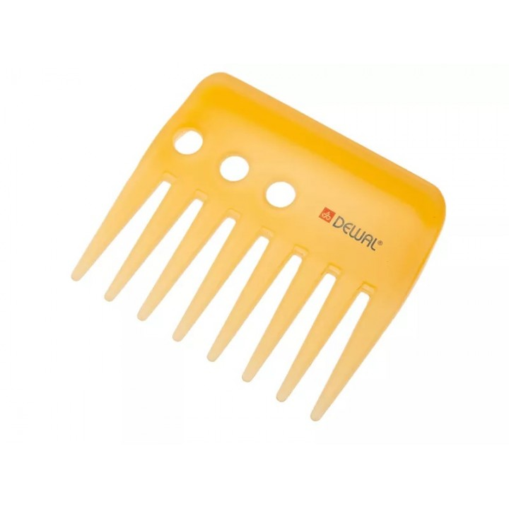 DEWAL Гребень моделирующий PROSUN антистатик, желтый 9 см//CO-6800-SO