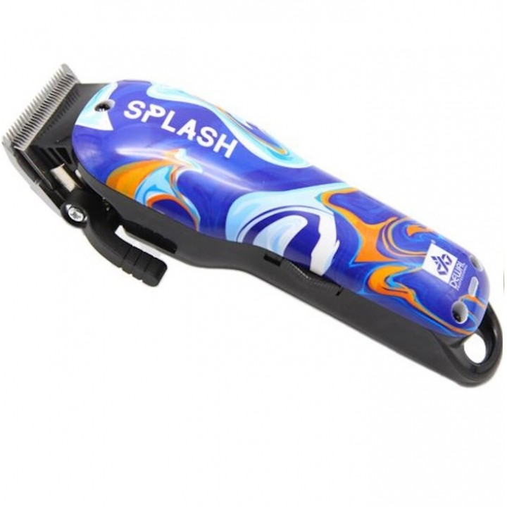 DEWAL Машинка SPLASH аккум/сет, 5200-6000 об/мин, нож 45мм, 0,5-2,0 мм, 6 нас. (1,5;3;4,5;6;10;13мм)