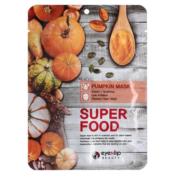 ENL SUPER FOOD Маска для лица тканевая EYENLIP SUPER FOOD PUMPKIN MASK, 23 мл
