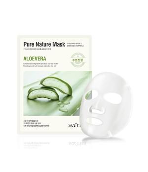 Маска для лица тканевая Secriss Pure Nature Mask Pack-ALOEVERA, 25ml