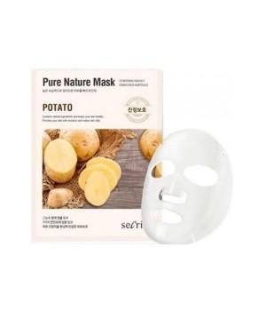 Маска для лица тканевая Secriss Pure Nature Mask Pack- Potato, 25ml