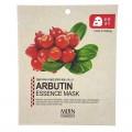 МЖ Cosmetics Маска для лица тканевая арбутин ARBUTIN ESSENCE mask, 25 гр