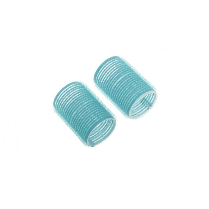 DEWAL Beauty Бигуди-липучки d 28*63мм голубые 10шт//DBL28