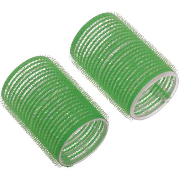 DEWAL Beauty Бигуди-липучки d 48*63мм зеленые 10шт//DBL48