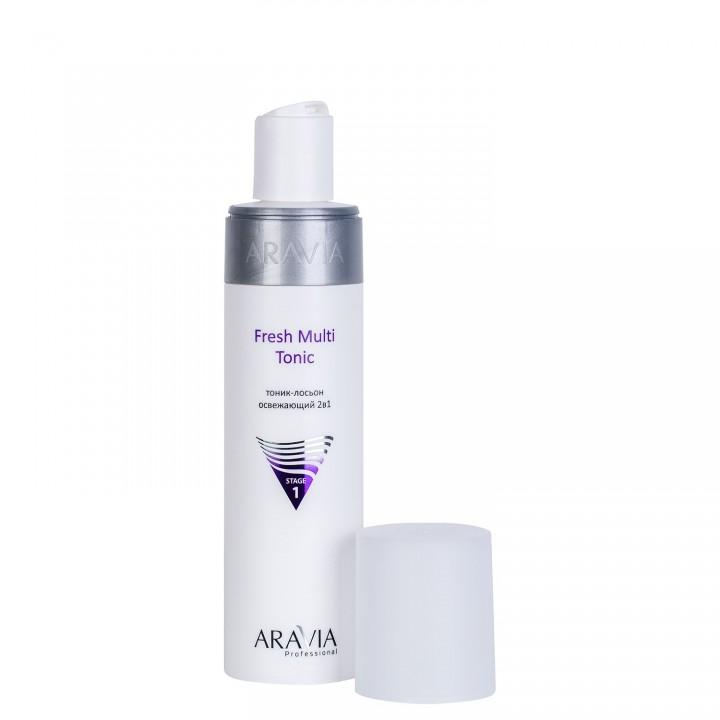 """""""ARAVIA Professional"""" Тоник-лосьон освежающий 2в1 Fresh Multi Tonic, 250 мл"""