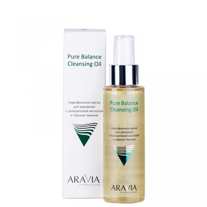 """""""ARAVIA Professional"""" Гидрофильное масло для умывания с салициловой кислотой и черным тмином 110 мл"""
