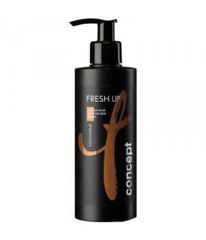 Concept FRESH UP Оттеночный бальзам для коричневых оттенков 250 мл