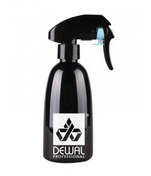 DEWAL Распылитель пластиковый,черный, с металл.шариком 250мл//JC0036black