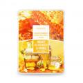 Маска тканевая на основе улитки и меда  DEOPROCE COLOR S. E. S. mask yellow, 20 гр