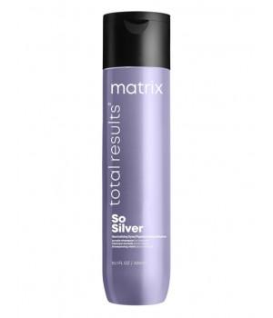 Шампунь MATRIX Total Results Color Obsessed So Silver для нейтрализации желтизны, 300 мл