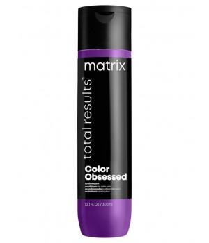 Кондиционер с антиоксидантами MATRIX Total Results Color Obsessed для окрашенных волос, 300 мл