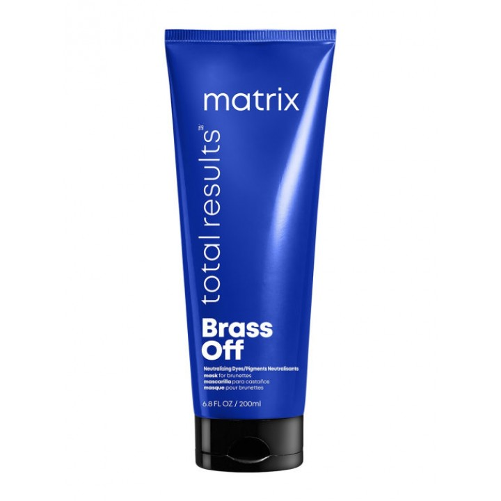 Маска MATRIX Total Results BRASS OFF для нейтрализации желтизны, 200 мл
