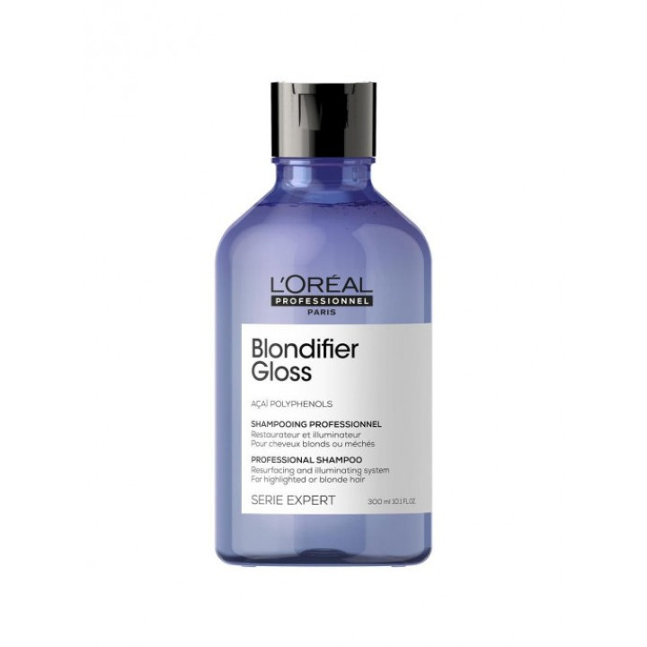 L'Oreal Professionnel Шампунь Serie Expert Blondifier Gloss для осветленных и мелированных волос, 300 мл