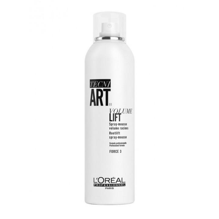 L'Oreal Professionnel Мусс Volume Lift Spray-Mousse для прикорневого объема волос, 250 мл