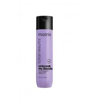 Шампунь MATRIX Total Results Unbreak My Blonde укрепляющий для осветленных волос, 300 мл