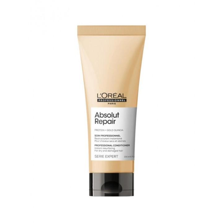 L'Oreal Professionnel Кондиционер Serie Expert Absolut Repair для восстановления поврежденных волос, 200 мл
