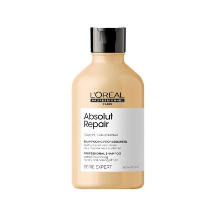 L'Oreal Professionnel Шампунь Serie Expert Absolut Repair для восстановления поврежденных волос, 300 мл