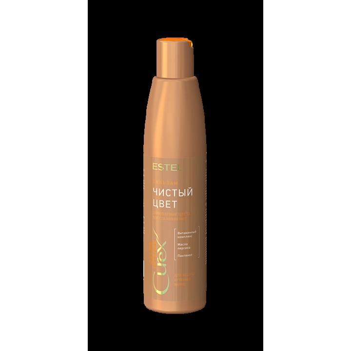 """CUREX COLOR INTENSE Бальзам """"Чистый цвет"""" для медных оттенков волос (250 мл)"""