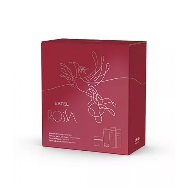 ESTEL ROSSA Набор парфюмерных компаньонов (шампунь, бальзам-маска, масло для душа, крем)