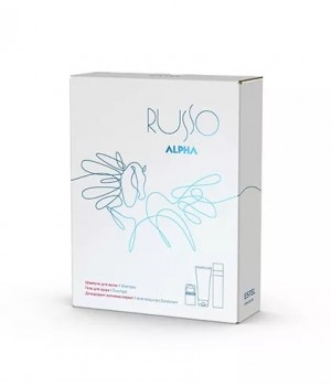 ALPHA RUSSO Набор (шампунь 250, гель д/д 200, дезодорант-антиперсп 75)