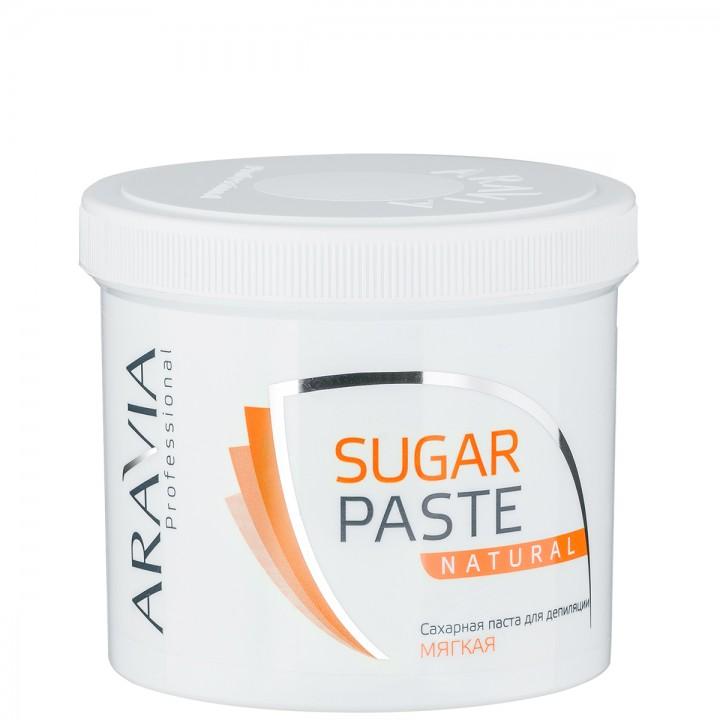 """""""ARAVIA Professional"""" Сахарная паста для депиляции """"Натуральная"""" мягкой консистенции, 750гр."""