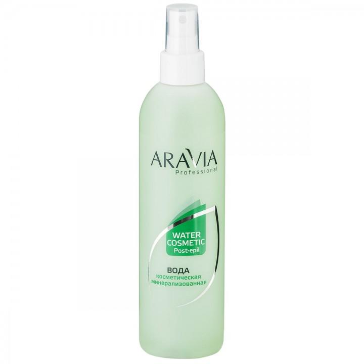 """""""ARAVIA Professional"""" Вода косметическая минерализованная с мятой и витаминами, 300мл"""
