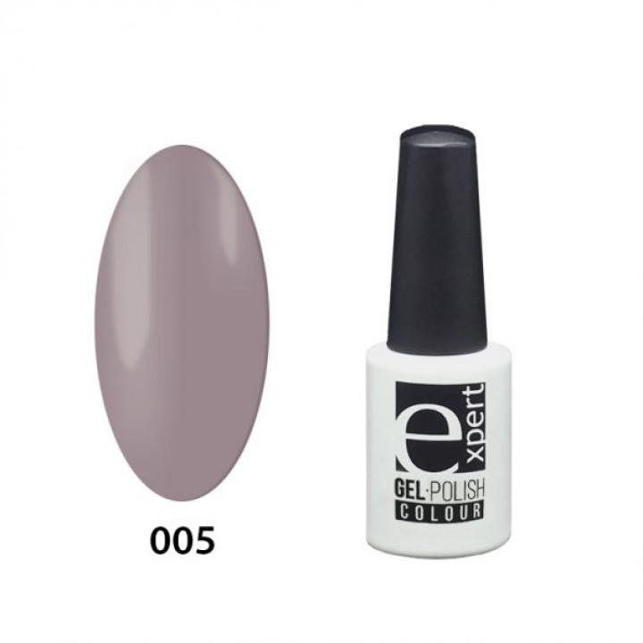 005 «expert» гель-лак цветной, Mist (розово-серый), 5мл