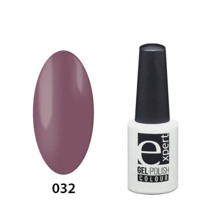032 «expert» гель-лак цветной, Lily (темно-лиловый), 5мл