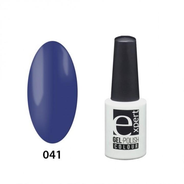 041 «expert» гель-лак цветной, Indigo (синий индиго), 5мл