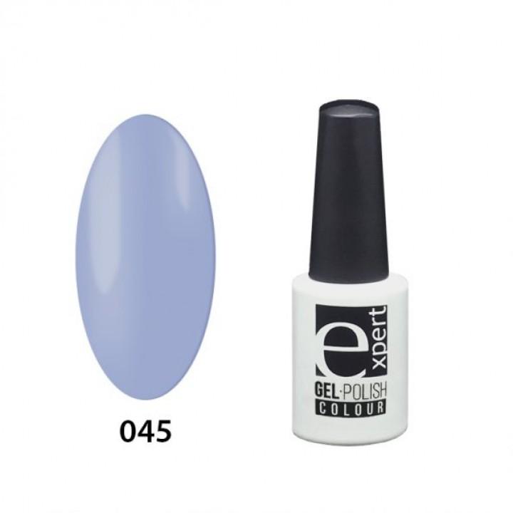 045 «expert» гель-лак цветной, Airy Blue (светло-голубой), 5мл