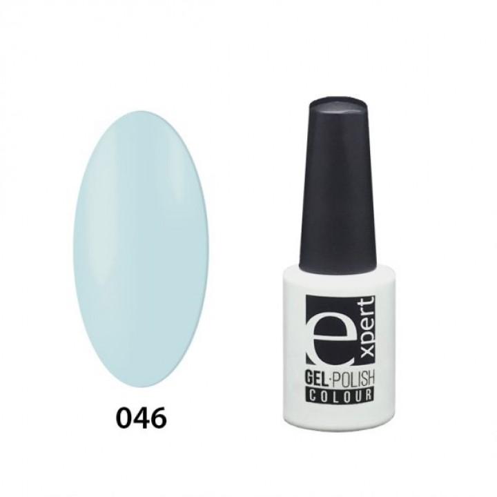 046 «expert» гель-лак цветной, Tiffany (светло-бирюзовый), 5мл