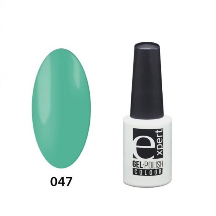 047 «expert» гель-лак цветной, Emerald (изумрудный), 5мл