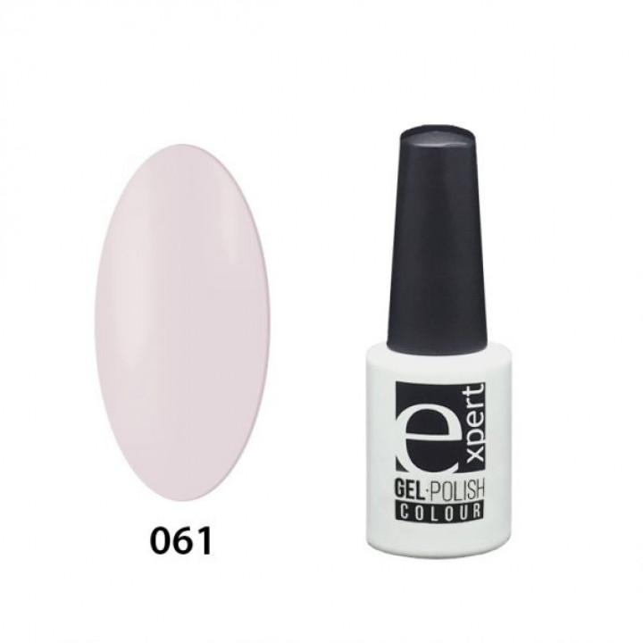 061 «expert» гель-лак цветной,  Biscuit (бледно-розовый), 5мл