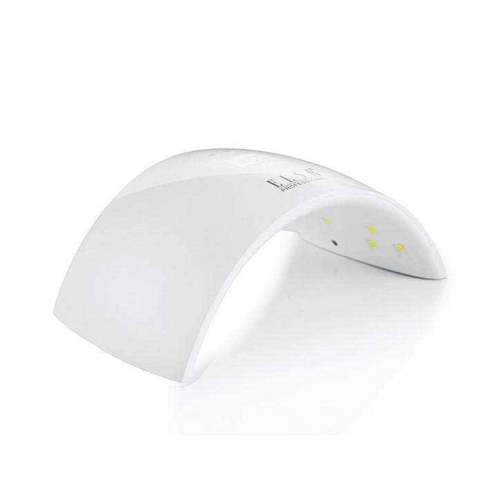 """ELSA"" Лампа UV/LED Plus 36 ватт с кнопочным таймером перламутр (белый внутр.корпус)"