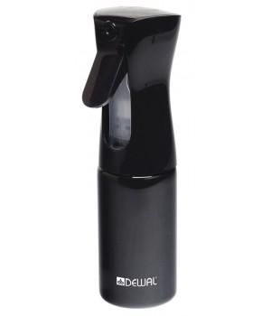 DEWAL Распылитель-спрей  пластиковый,черный, 160мл//JC002black