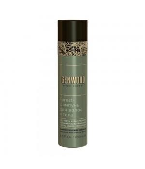 ALPHA HOMME GENWOOD Forest-шампунь для волос и тела, 250 мл